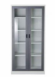 2 Door Glass Door Cabinet