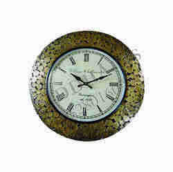Coin Wooden Wall Clock