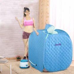Portable Steam Spa Bath Detox Weight Loss Blue