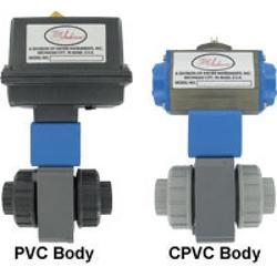 Series PBV Two-Way Plastic Automated Ball Valve