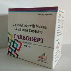 Carbonyl Iron Vitamin And Zinc Capsule