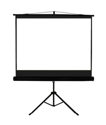 Suvira Lite Tripod Projection Screen Mw Size- 6x8 Feet