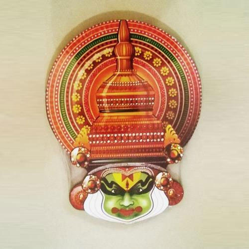 Wooden Handicrafts Wooden Kathakali Face Wholesale Trader From Kochi