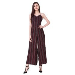 Printed Western Ladies Jumpsuit