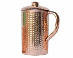Copper Hammered Jug