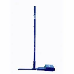 Movable Badminton Pole Blue