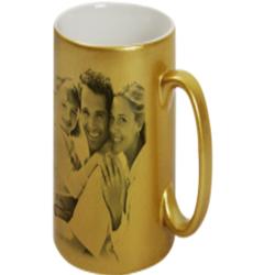 Sublimation Golden Mug