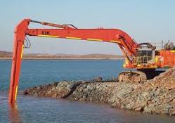 Long Reach Excavator Rental Services