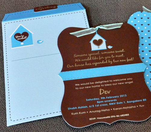 online baby announcement cards