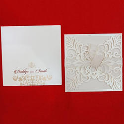 131 White with Ribbon