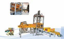 Semi-Automatic Concrete Brick & Block Making Machine