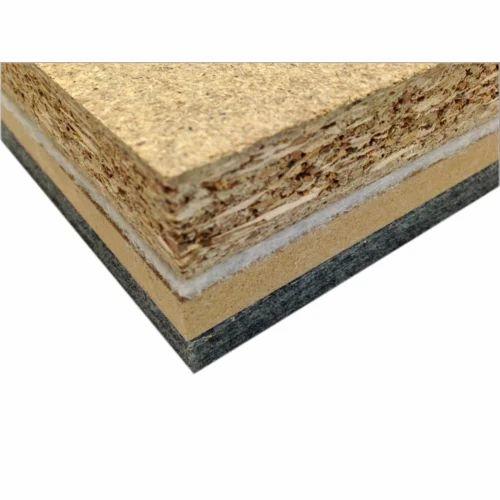 Acoustic floor tiles
