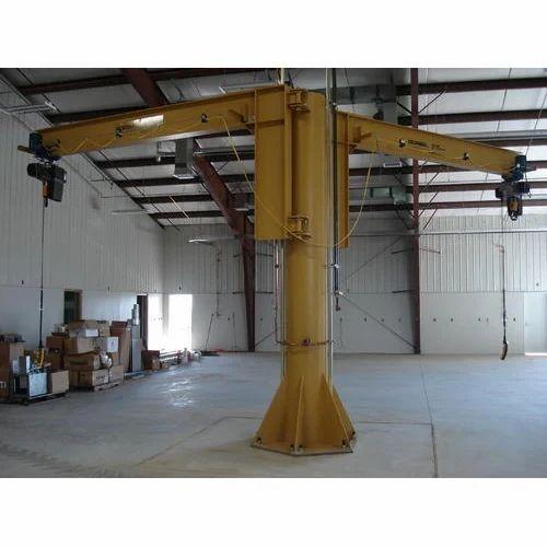 Jib Cranes Floor Mounted Jib Crane Manufacturer From Gurgaon