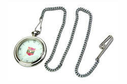 Silver Chain Pocket Watch