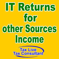 IT Returns For Other Sources Income