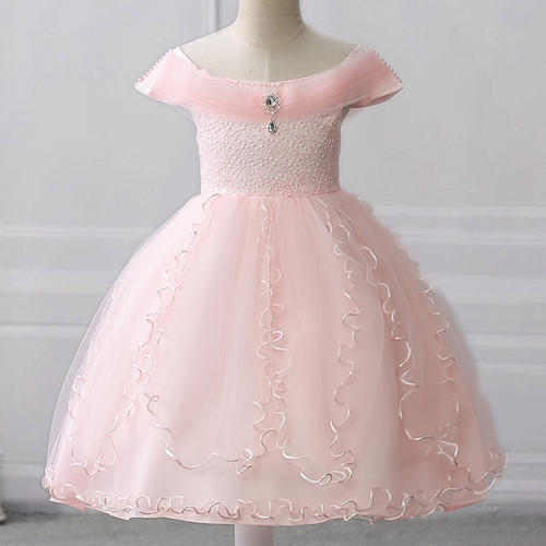 f9cdcb66f35905 Dresses II - Adorable Peach Party Dress Wholesaler from Mumbai