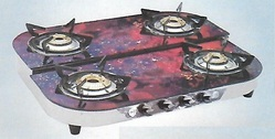 Designer Four Burner LPG Gas Stove