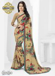 Summer Floral Printed Saree