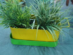 Galvanized Planter