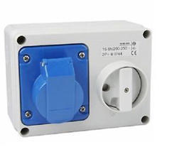 Plug and Socket with Interlock