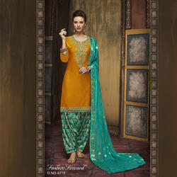 Fancy Unstitched Salwar Kameez