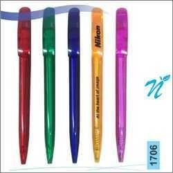 Plastic Twist Transparent Pen