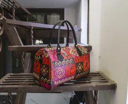 Printed Duffle Bag