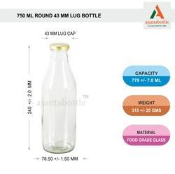 750 Ml Milk Bottle