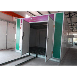 Large Spray Painting Booth