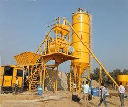 Low Noise Emission Transit Dry Mix Concrete Batch Plant