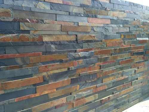 Elevation With Stone Cladding : Interior and exterior wall cladding d stone