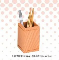 Pen Stand Wooden Small