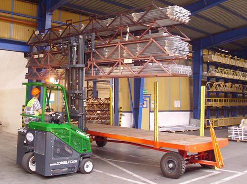 Aluminum Extrusions Handling Forklift