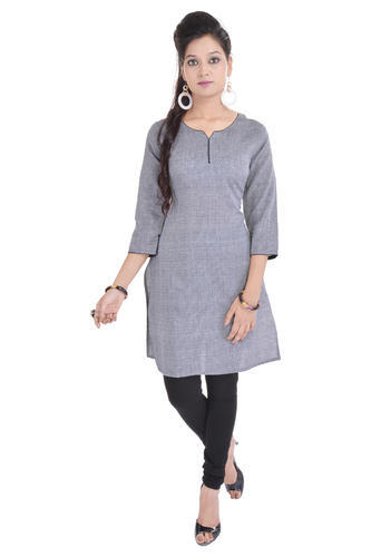 Fab Rajasthan Cotton Cream Kurti