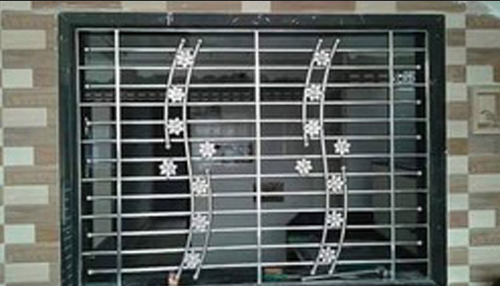 Window Grile Brown Modern Design Window Grill Manufacturer From Pune
