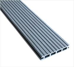 WPC Exterior Floor Decking (Groove Finish) - Grey