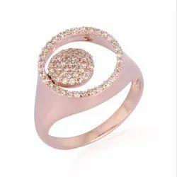 Natural Diamond Gold Designer Ring