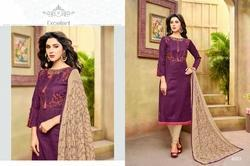 3/4 Sleeve Havya Salwar Suit Fabric