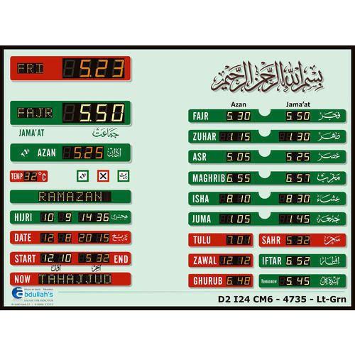 Salaah Time Indicator