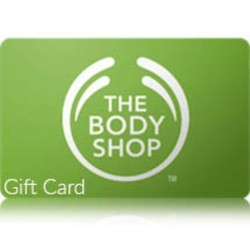 The Body Shop - Gift Card - Gift Voucher