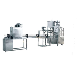 Rotary Bottle Rinsing Filling & Capping Machine