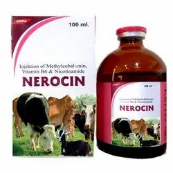 Injection Of Methylcobalamin, Vitamin B6 & Nicotinamide(Vet)