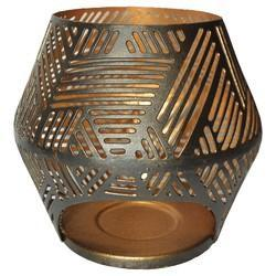 Iron Candle Holder With Jali Work