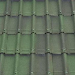 Green Color Roof Tiles