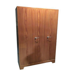 78H X 54W 22D Smooth RMF 3 Door Wardrobe, Model Number: RSID43, Warranty: More Than 5 Year