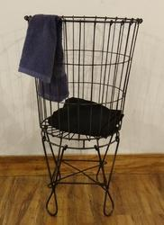 Knock Down Iron Wire Storage Basket
