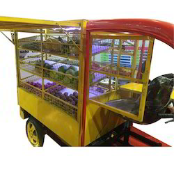Vegetable Van E-Rickshaw