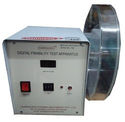 Single Drum Friability Test Apparatus