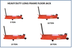 Heavy Duty Long Frame Floor Jack 20 Ton JM 703 06
