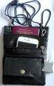 Neck Leather Passport Holder Case